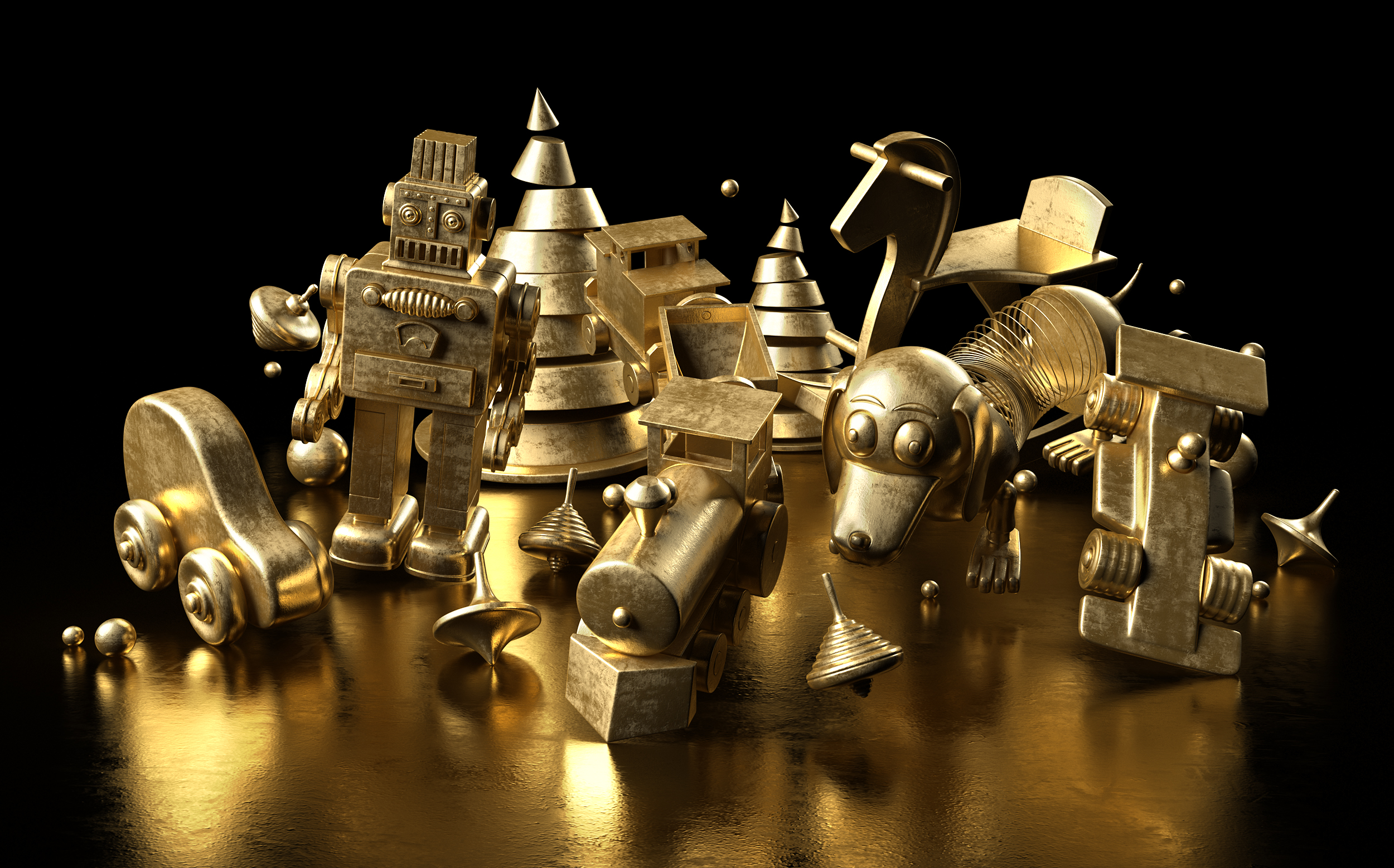 GOLDEN TOYS STILLLIFE 2
