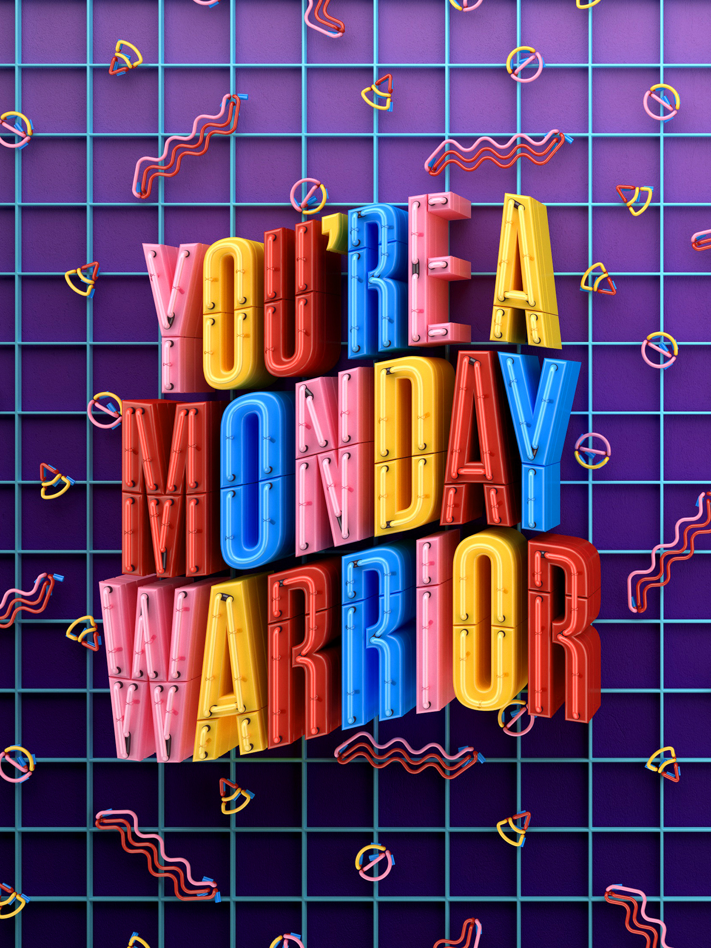 MONDAY WARRIOR BEHANCE