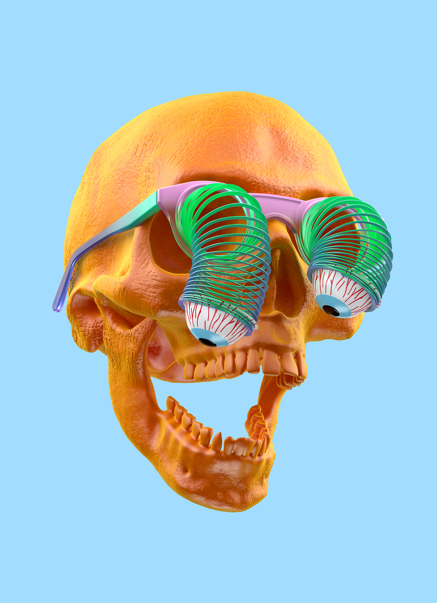 SKULL GLASSES WEB